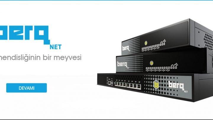 Türkiye'nin Yeni Nesil Firewall'u berqNET