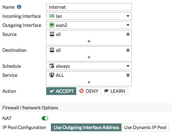 IPv4 Policy