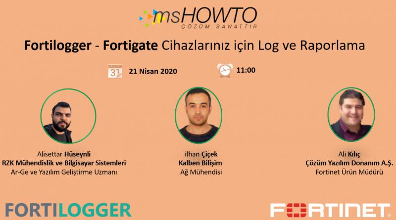 Fortilogger – Fortigate Cihazlarınız için Log ve Raporlama