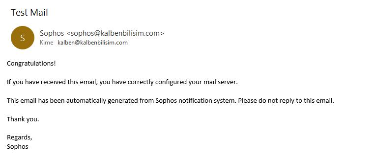 Deneme E-postası