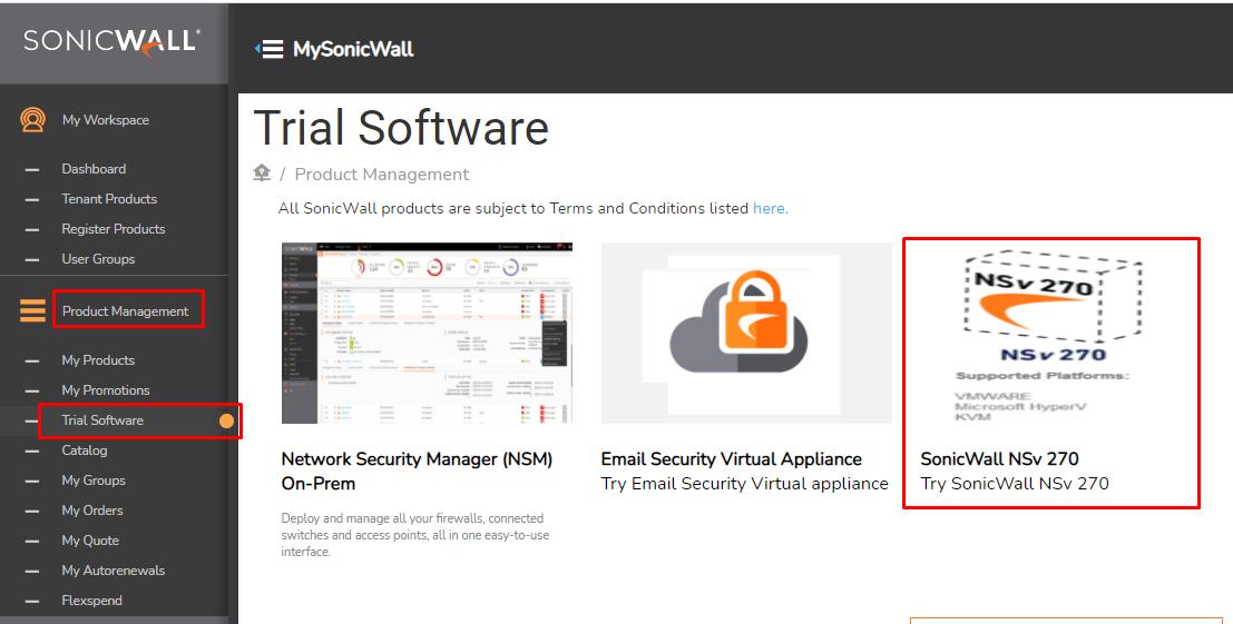 Sonicwall NSv 270 Sanal Firewall Kurulumu